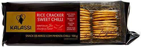 Biscoito de Arroz Pimenta Chilli Kalassi 100g