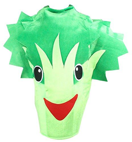 [Petitebella Halloween Green Broccoli Celery Unisex Costume Party Adult Clothing (One Size)] (Celery Costumes)