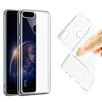 Helix Transparent Back Cover Case for Huawei Honor 7X Mobile Accessories