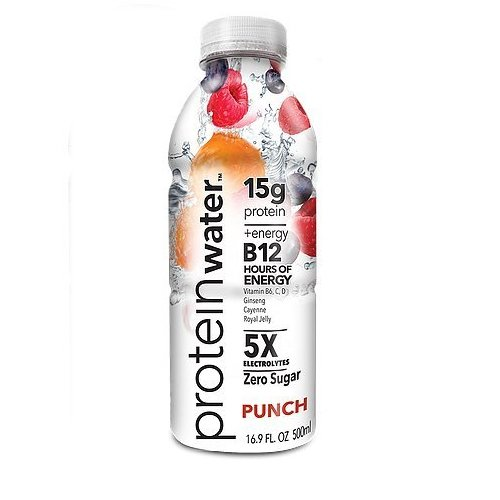 ProBalance The Original Protein Water, Punch, 16 Count