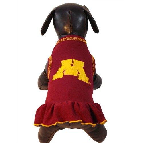 NCAA Minnesota Golden Gophers Cheerleader Dog Dress