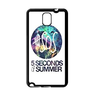 Fashion Custom 5 SOS Durable Protection Hard Cover Case For Samsung Galaxy Note 3 III TPU