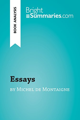 Business Essay Sample Essays By Michel De Montaigne Book Analysis Detailed Summary Essays By Michel  De Montaigne Book Analysis Example Of A Thesis Statement For An Essay also Health And Wellness Essay Limited Editions Club The Essays Of Montaigne  The Essays Of  How To Write An Essay Thesis