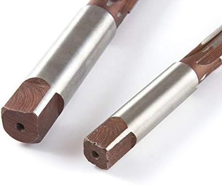 GENERICS LSB-Werkzeuge, 10 Teile/Satz zylinderschaft handreibahle 3/4/5/6/7/8/9/10/11 / 12mm H7 H8 9SiCr 6 flöte Handwerkzeuge (Head Diameter : H8)