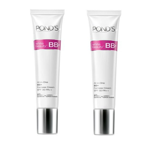 """2 x Ponds White Beauty All-in-One BB+ Fairness Cream (9 g)(Pack of 2)."""" Expedited International Delivery By USPS / FedEx """""""