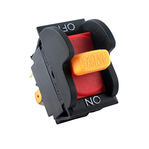 SW7A On-Off Toggle Table Saws by Podoy Replacement for Delta 489105-00 and Ryobi/Ridgid 46023 Drill Press Switch-Premium Quality