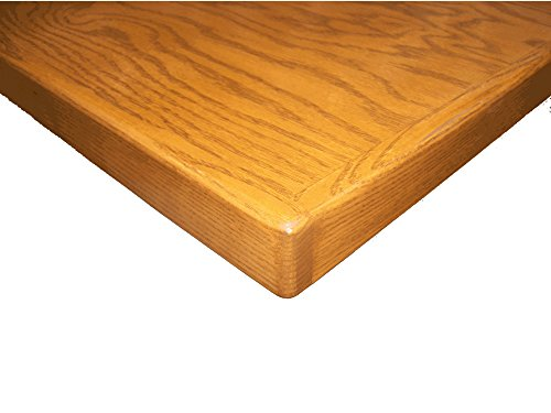 Wood Restaurant Table Top. Available in Mahogany, Natural, Cherry or Walnut Stains. Finished with Table Armour tm, to withstand the wear of a restaurant environment.