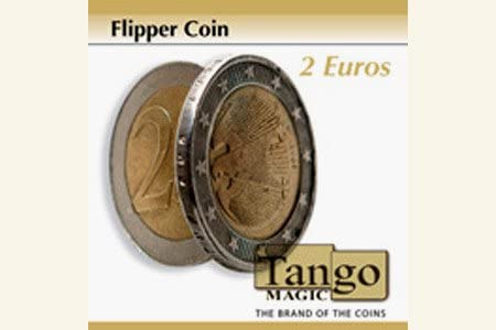 Tango Magic Moneda Flipper de 2 Euros: Amazon.es: Juguetes y juegos