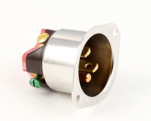 Alto Shaam IT-3001, Miniature Inlet, 15-Amp 125 Volt