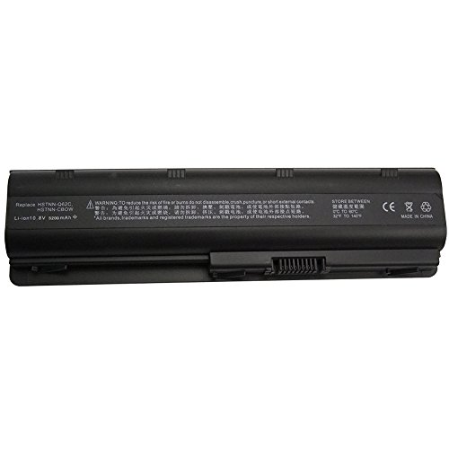 Bay Valley Parts 6-Cell 10.8V 5200mAh New Replacement Laptop Battery for HP:Pavilion g4,Pavilion g6,Pavilion g6s - Hpcq42lh Laptop Battery