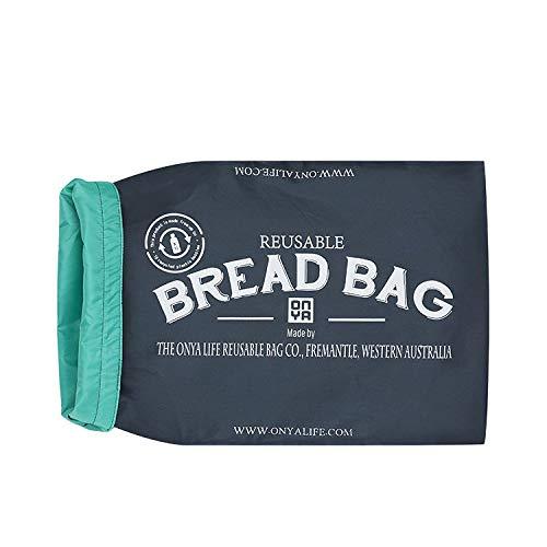 ONYA Bolsas de pan reutilizables para mantener el pan fresco ...
