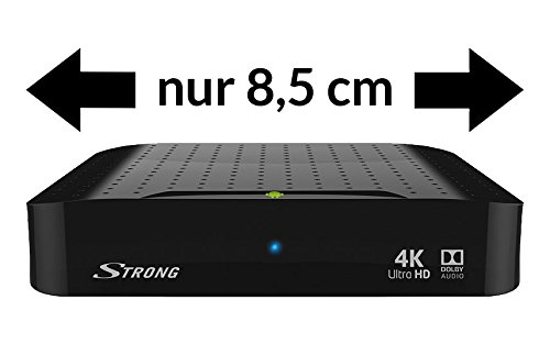STRONG SRT 2022 UHD Android Box Ethernet Quad Core Bluetooth mando a distancia con teclado//funci/ón Air Mouse 2.4GHz WiFi Smart TV Box Android 7.1 4K Ultra HD