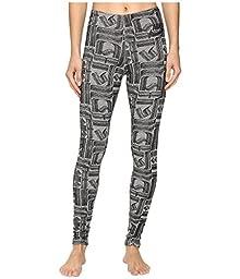 Nike Sportswear Leg-A-See Rostarr Printed Legging Carbon Heather/Black Women\'s Casual Pants