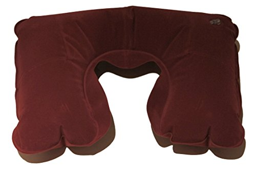 Inflatable Travel Camp Neck Pillow Cushion U Shaped Compact for Air Flight
