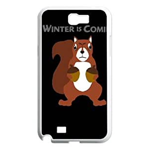 Samsung Galaxy N2 7100 Cell Phone Case White SQUIRREL SNOW SLI_580780