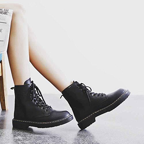 Forti stivaletti Anfibi meibax Scarpe Impermeabile Taglie Tacco Grande Donna Boots Consiglia Donna Uno Di Retro Antiscivolo Si stivaletti B Stivali Con Acquistarne 30 Nero Alto tZqw5P