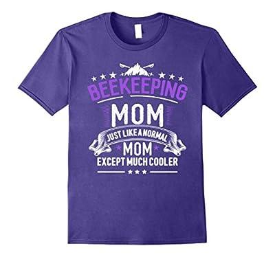 Beekeeping Mom T-Shirt Funny Womens Beekeeper Tee