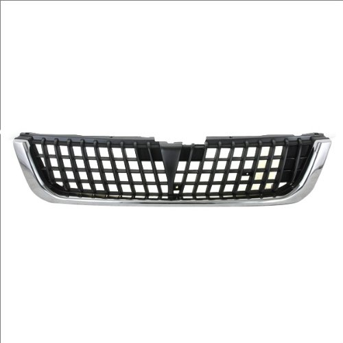 Grille Grill Assembly W// Chrome Trim Replacement CarPartsDepot 400-35897