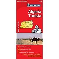 Algeria, Tunisia - Michelin National Map 743