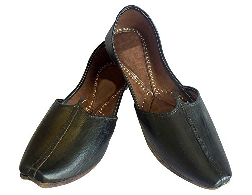 Step N Style Khussa Jutti Scarpe Formali Pakistani Khussa Jutti Scarpe Etniche Sherwahi Nere