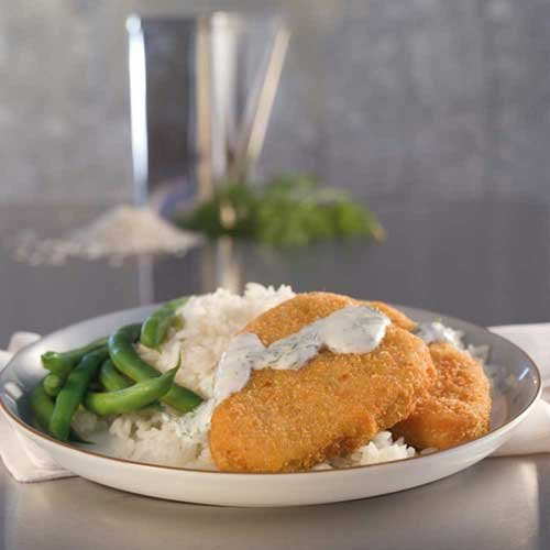 Trident Seafoods Salmon Croquette, 10 Pound - 1 each.