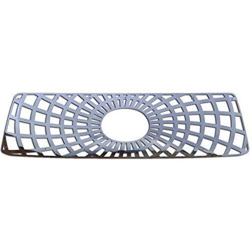 (Ferreus Industries Polished Stainless Spider Web Grille Grill Insert Trim fits: 2010-2013 Toyota Tundra TRK-138-07)