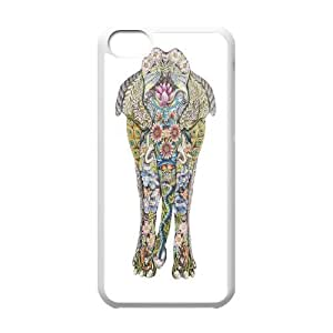 James-Bagg Phone case Big elephant art protective case For iphone 5c iphone 5c FHYY469806