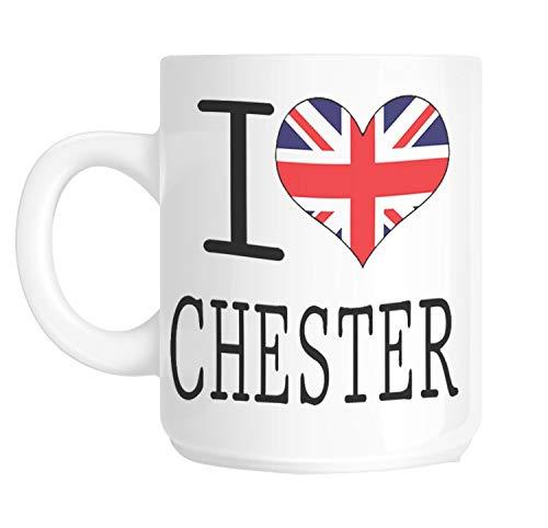 I Love Heart Chester Gift Mug shan136 Novelty Mug Ceramic Mug Coffee Cup Tea Cup Coffee Mug