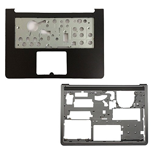 Palmrest Touchpad Base - New Laptop Replacement Parts For Dell Inspiron 14-5447 5448 5445 (Palmrest Upper Cover Case No TouchPad+Bottom Base Cover)