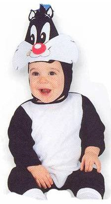 Infant Sylvester The Cat Costume (Size: 9M)