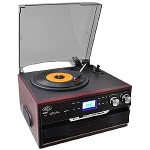 Amazon.com: Pyle pttcds7u Tocadiscos Classic clásico con ...