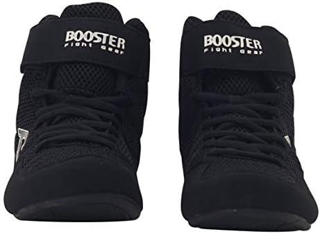 Boxerschuhe Boxschuhe Booster BCS Black Schwarze Boxstiefel