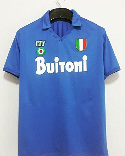 Napoli Maglia Buitoni Scudetto 1987 1988 Diego Armando Maradona 10 ...