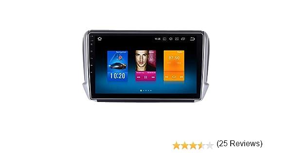 Dasaita - Radio de coche Android 10.0 con Bluetooth 5.0 para Peugeot 2008 208 años 2012 a 2018 DAB Radio GPS Soporte Wifi USB Carplay Control de Volante Pantalla dividida 4 GB/32 GB: Amazon.es: Electrónica