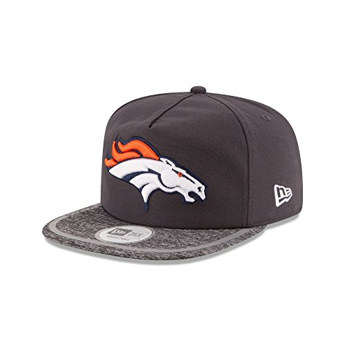 NFL Mens 2016 Training Camp Velcro Adjustable A-Frame Hat(OSFA, Denver Broncos) (Hat Training Camp)