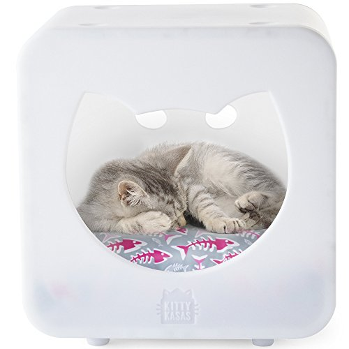Kitty Kasas Bedroom Cube Cat House