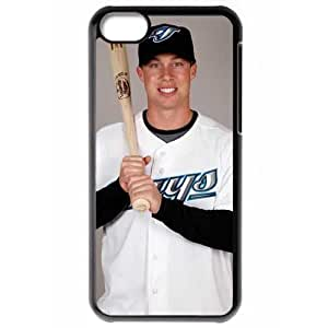 MLB Iphone 5C Black Toronto Blue Jays cell phone cases&Gift Holiday&Christmas Gifts NBGH6C9126747