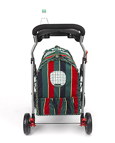Original Stripe Pet Stroller - Striped