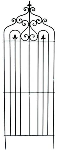 2-er Set Rankgitter H 195 cm Metall Spalier Rankhilfe Rankbogen Kletterhilfe