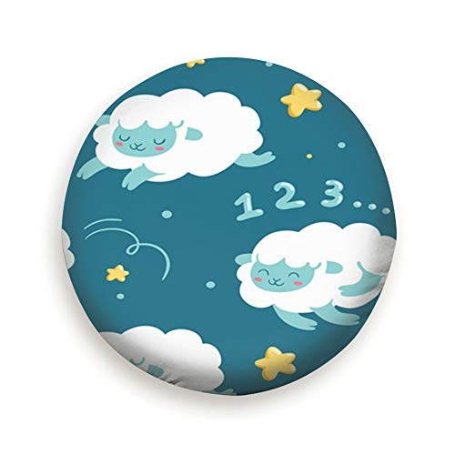 oktopstore Insomnia Good Night Sleep Abstract Sheep Spare Wheel Tire Cover Waterproof Dust-Proof Universal for Jeep,Trailer, RV, SUV and Many Vehicle 14