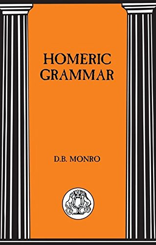 Homeric Grammar (Bcp Advanced Language S)
