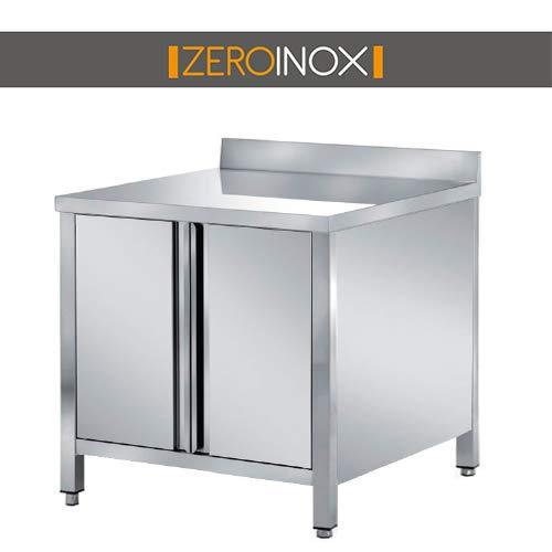 ZeroInox Mesa armadiato con Puertas & - tartera de Acero ...