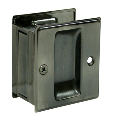 Deltana SDP25U15A 2 1/2-Inch x 2 3/4-Inch Passage Pocket Locks