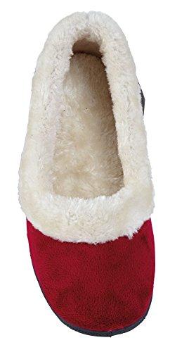 Slider Kunstpelz Schuhe Damen Stiefel On Pump Slip Slipper Mules 1EadxnFq