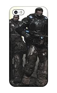 For AnnaSanders Iphone Protective Case, High Quality For Iphone 5/5s Gears Of War Video Game Other Skin Case Cover