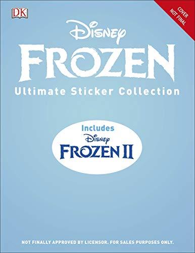 with Frozen Sticker Books design