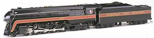 (Bachmann Industries N&W #611 Rail Fan Class J 4-8-4 DCC Sound Value Equipped Locomotive (HO)