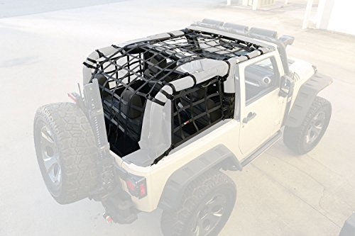 jeep cargo netting - 9