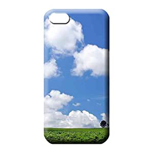 iphone 5 5s Excellent Fashionable Eco-friendly Packaging phone case skin sky blue air white cloud