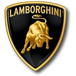 """6""""Lamborghini LOGO Decal Sticker for case car laptop phone bumper etc"""